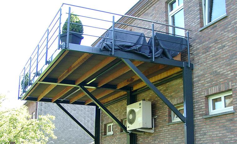terrasse suspendue galva nos conseils. Black Bedroom Furniture Sets. Home Design Ideas