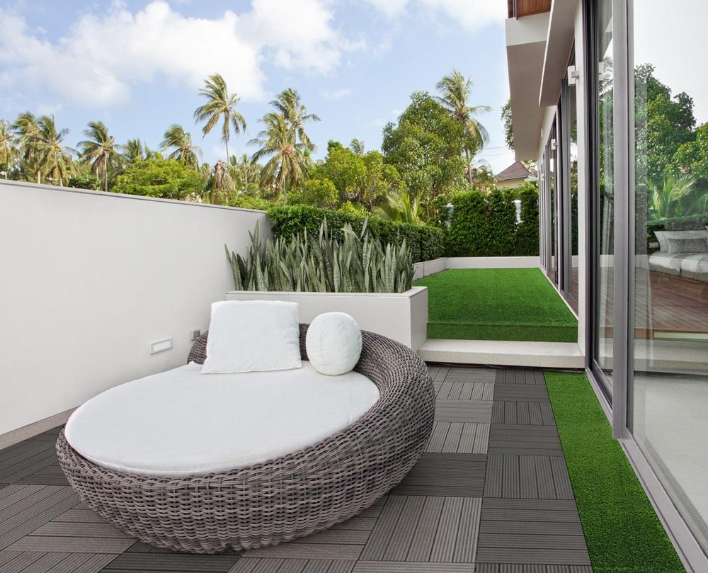 Terrasse tapis gazon nos conseils for Tapis exterieur balcon
