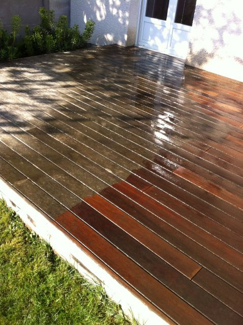 Terrasse teck karcher nos conseils - Bois teck pour terrasse ...